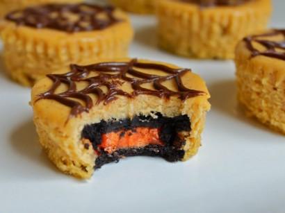 Halloween Oreo Pumpkin Cheesecakes | Tasty Kitchen: A Happy Recipe ...