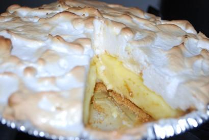 Лимонный пирог с меренгами рецепт с пошагово