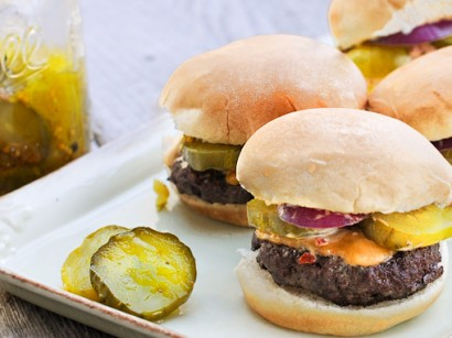 Buffalo Sliders with Chipotle Mayonnaise | Tasty Kitchen: A Happy ...