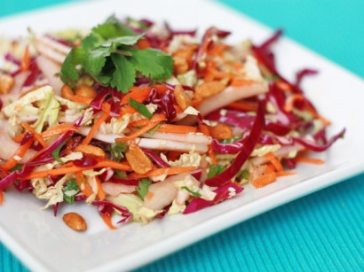 Asian Fusion Salad With Sesame Ginger Dressing