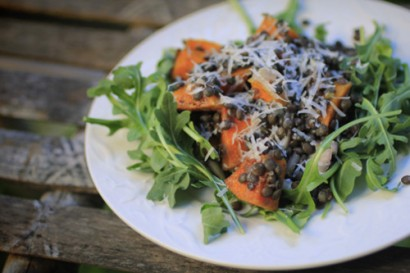 Warm Butternut Squash and Beluga Lentil Salad | Tasty Kitchen: A Happy ...