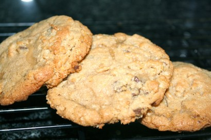 A Z Everything But The Kitchen Sink Chocolate Chip Cookies