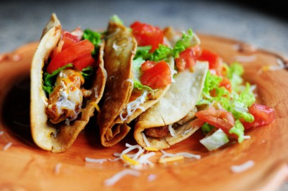 My brother s chicken tacos tasty kitchen a happy recipe for Pioneer woman fish tacos