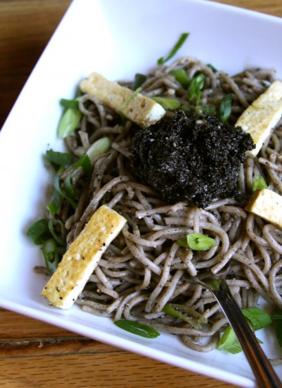 Black Sesame Otsu Recipe — Dishmaps