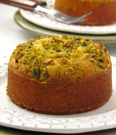 Indian Mava Minicakes With Pistachios & Saffron   Tasty Kitchen: A ...