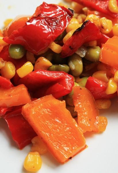 spicy edamame succotash salad recipes dishmaps spicy edamame succotash ...