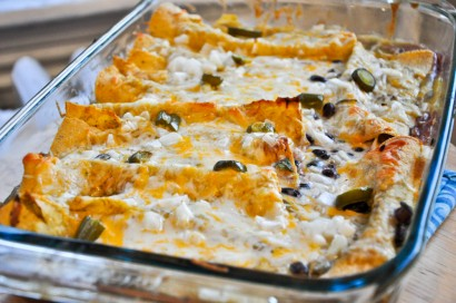 Spicy black bean enchiladas recipe magnificent
