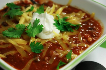 This 3 Bean Turkey Chili is by far the best turkey chili you'll ever ...