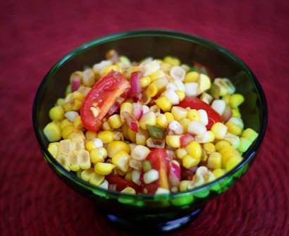 Салаты со сладкой кукурузой рецепт