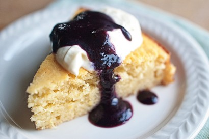 Lemon and Olive Oil Yogurt Cake with Fresh Blackberry Limoncello Sauce ...