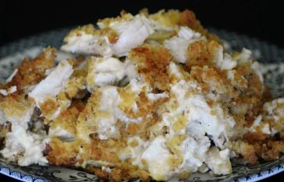 Cornbread Stuffing Chicken Casserole