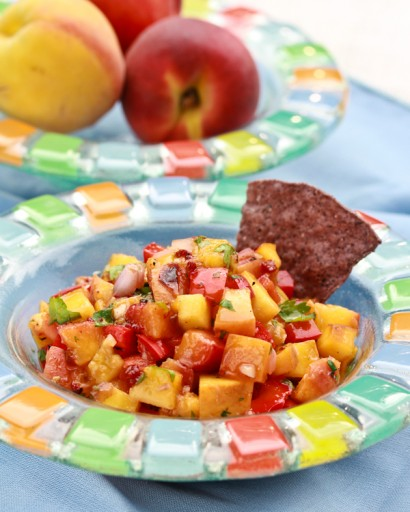 Grilled Peach and Chipotle Salsa | Tasty Kitchen: A Happy Recipe ...