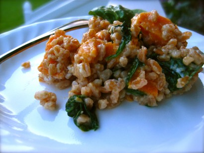 Sweet Potato and Spinach Farro Risotto | Tasty Kitchen: A Happy Recipe ...