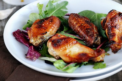 how to make bbq chicken wings in the oven