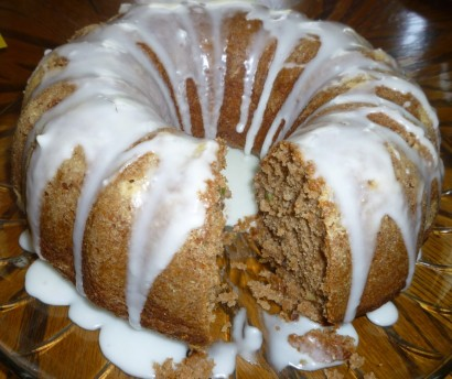 Chocolate Zucchini Bundt Cake Using Cake Mix