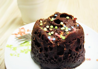 3 Minute Microwave Brownie Tasty Kitchen A Happy Recipe