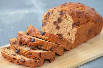 Heart Healthy Low-Fat Chocolate Chip Zucchini Bread ...