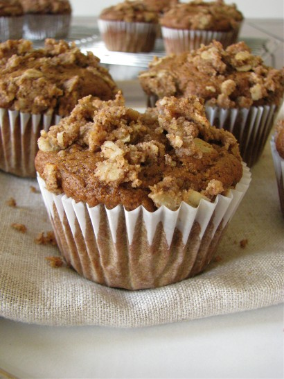 Pumpkin Spice Latte Streusel Muffins | Tasty Kitchen: A ...