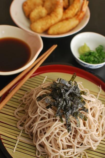 Zaru Soba (Japanese Buckwheat Noodles) | Tasty Kitchen: A ...