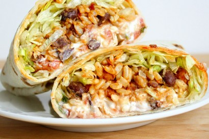 spicy bean and rice burritos tasty kitchen a happy recipe community