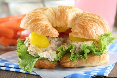 The best tuna salad sandwich tasty kitchen a happy for Best tuna fish salad