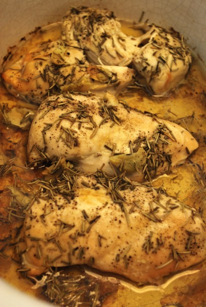 Crock Pot Mediterranean Chicken