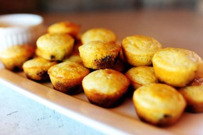 Blueberry Cornbread Mini-Muffins | The Pioneer Woman