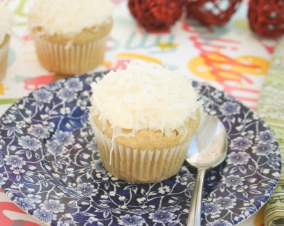 Coconut Snowball Cupcakes (Gluten Free) | Tasty Kitchen: A Happy ...