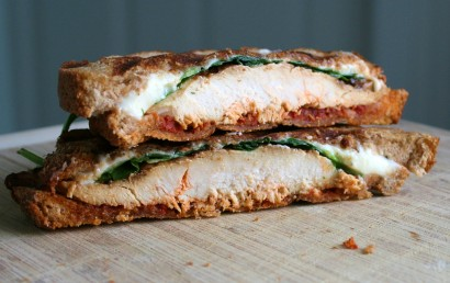 Tuscan Grilled Chicken Panini
