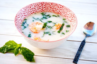 Spicy Thai Coconut Shrimp Soup | Tasty Kitchen: A Happy Recipe ...