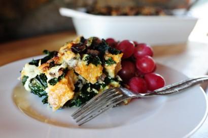 Sausage-Kale Strata | Tasty Kitchen: A Happy Recipe Community!
