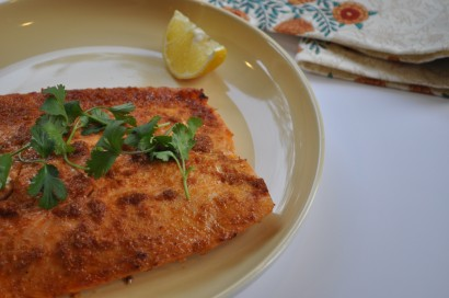 Baked Indian Spiced Salmon