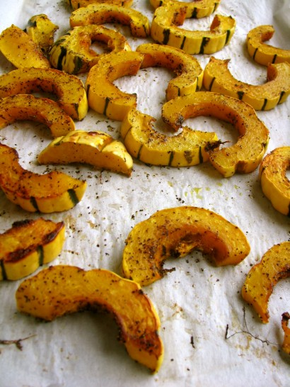 how to cook delicata squash in oven