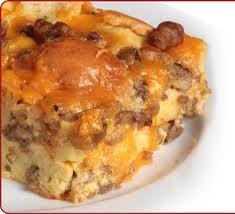 Sausage And Cream Cheese Breakfast Casserole Tasty