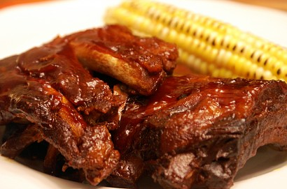 all day simple slow cooker fall off the bone ribs tasty kitchen