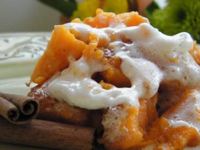 Twice Baked Maple & Cinnamon Yams With Mini Marshmallows ...