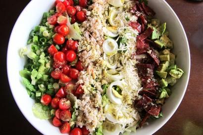 Crab Cobb Salad with Lemon Basil Vinaigrette   Tasty Kitchen: A Happy ...