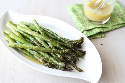 Roasted Asparagus with Miso Lime Dressing | Tasty Kitchen: A Happy ...