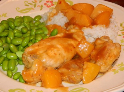 Spicy Georgia Peach Chicken | Tasty Kitchen: A Happy Recipe Community!