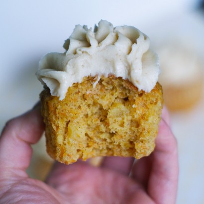 Carrot and Pineapple Cupcakes with Brown Butter Cream ...