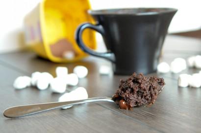 Flourless Emergency Chocolate Mug Cake Tasty Kitchen A