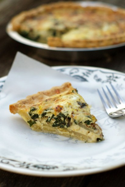 Potato, Bacon and Kale Quiche | Tasty Kitchen: A Happy Recipe ...