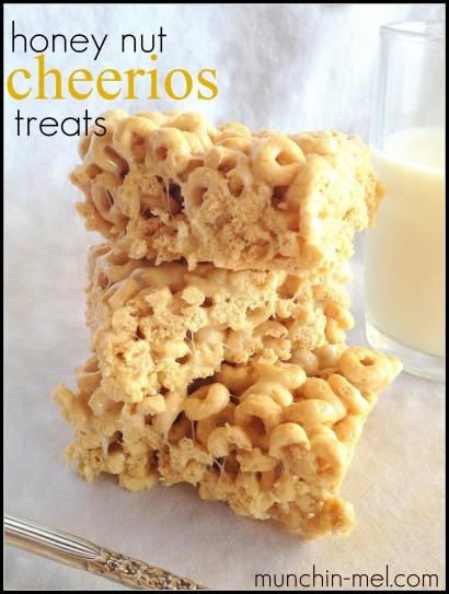 Honey Nut Cheerios Treats Tasty Kitchen A Happy Recipe Community