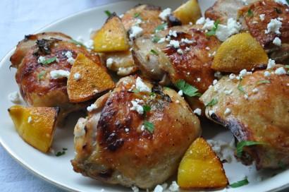 Roasted Greek Chicken Thighs | Tasty Kitchen: A Happy Recipe Community ...
