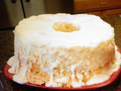 Angel Food Birthday Cake Icing