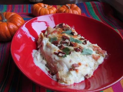 Buttercup Squash & Chicken Enchiladas Verde | Tasty Kitchen: A Happy ...