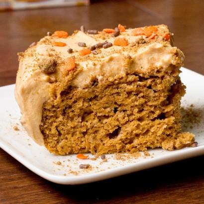 Low Fat Pumpkin Spice Cake