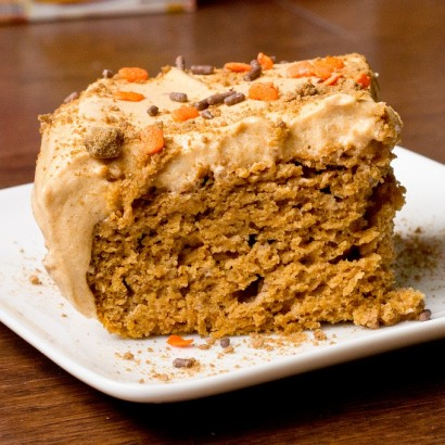 Cake Mix Pumpkin Sheet Cake