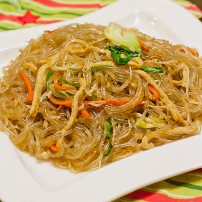 Beef Glass Noodle Stir Fry