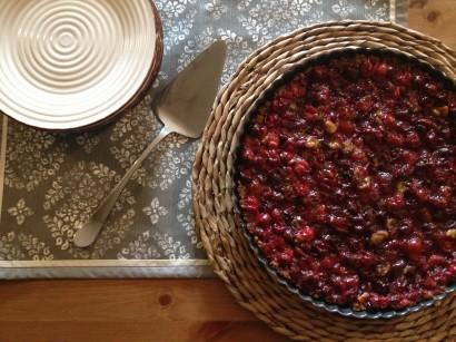 Cranberry-Orange Tart with Walnut Pie Crust | Tasty Kitchen: A Happy ...